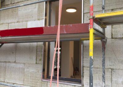 Referenz Fassadendämmung Bahnhof Klosterlechfeld 6