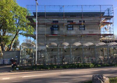 Referenz Fassadendämmung Bahnhof Klosterlechfeld 7