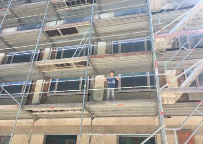 Referenz Fassadendämmung Amerikahaus München 1