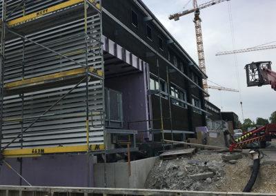 Referenz Fassadendämmung Sentabad München 2